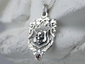 01 / Skull / SILVER 925 / - Necklace made of silver
