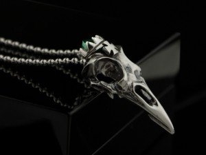 Crow skull necklace | TYVODAR