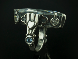 Galadriel / silver 925 / - Sterling Silver Ring