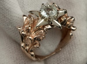 Gold starfish ring | TYVODAR