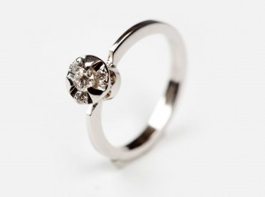 Engagement diamond ring  | TYVODAR