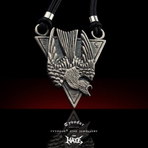 HATE  / brass / - Hate necklace