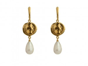 Coin earrings  | TYVODAR