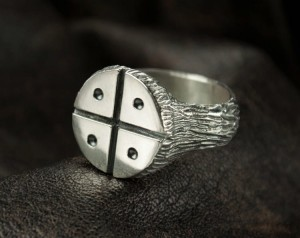 SILVER VIKING RING | TYVODAR