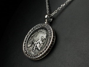Skull coin necklace | TYVODAR