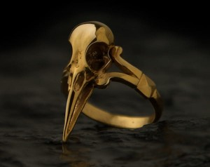 Crow skull ring | TYVODAR