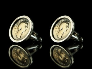 Cufflinks antiquo coin - cufflinks for men