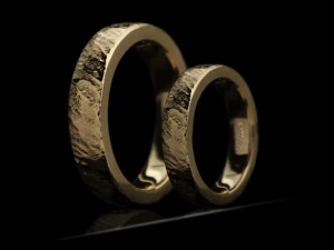 Hammered wedding rings | TYVODAR