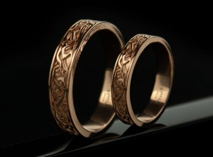 Nordic wedding band | TYVODAR