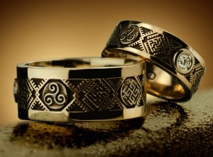 Slavic wedding rings | TYVODAR