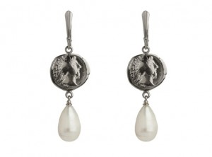 Old coin earrings | TYVODAR