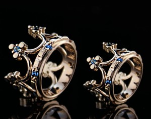 Crown wedding rings | TYVODAR