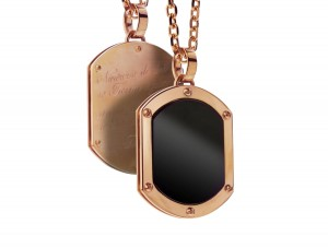 Onyx dog tag | TYVODAR