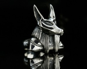 Anubis - ring made of silver / silver Anubis / mythology/ Anubis mythology ring / history ring/ signet Anubis / history ring