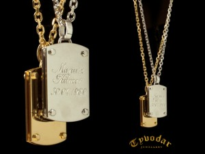 Military necklace- Personalized Dog tag necklace, Military necklace, Jewelry Military , Military