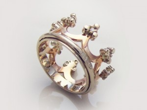 Royal crown ring | TYVODAR
