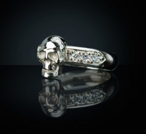 Womens skull ring | TYVODAR