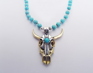 Skull necklace | TYVODAR