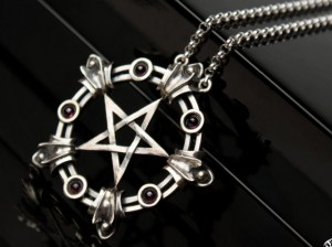 Pentagram necklace | TYVODAR