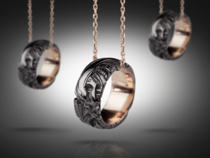 Biomechanical necklace | TYVODAR