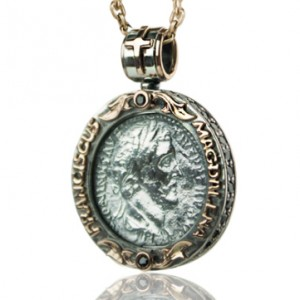 Old coin necklace | TYVODAR