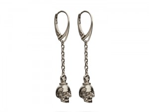 Skull earrings | TYVODAR