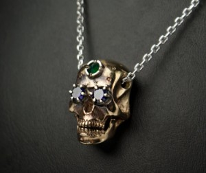 Sugar skull necklace | TYVODAR