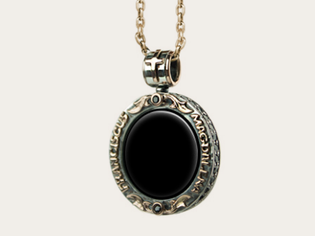 Necklace black onyx 1 aloadofball Image collections