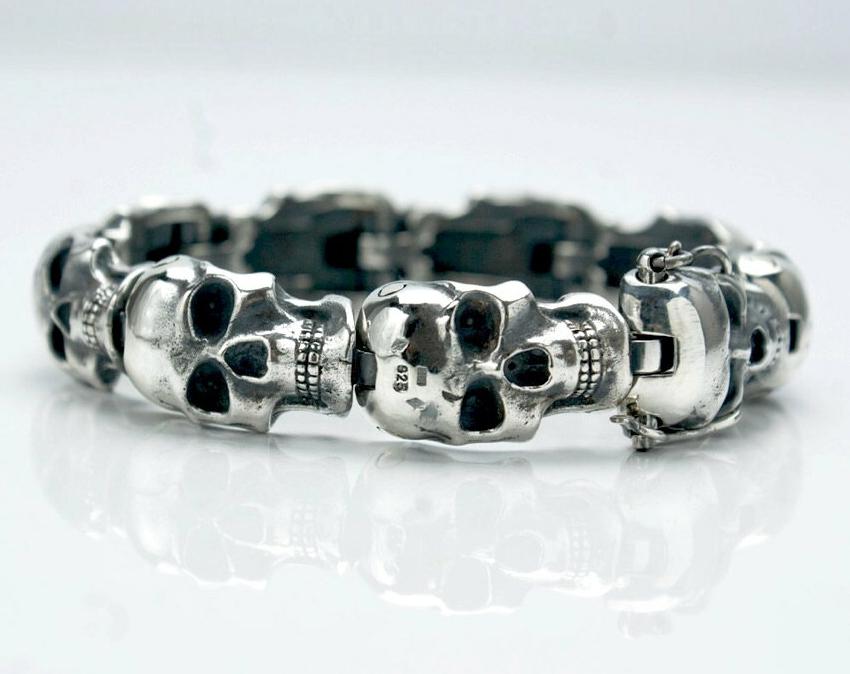 Skull Bracelet Tyvodar Com