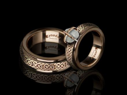 Slavic Wedding Rings Tyvodar